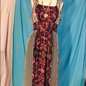 Free people boho maxi dress